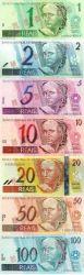 Conjunto de cédulas do Sistema Monetário (notas sem valor)