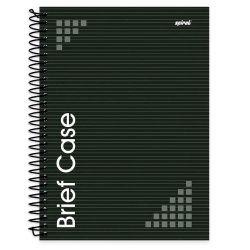 Caderno Universitário de capa dura - 80 folhas - nomeado